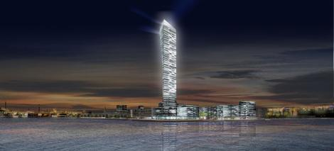 Denmark Lighthouse Rendering Night