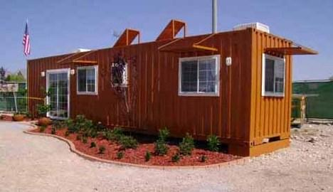 Jetson green instant built house rapid deployment shelter - Container homes las vegas ...