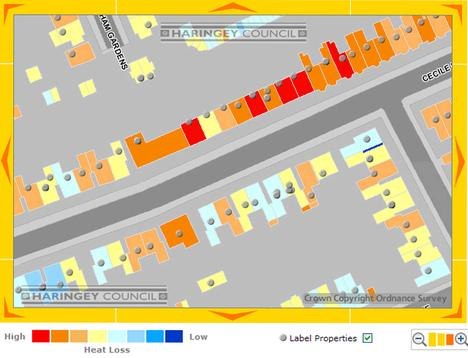 Haringey Interactive Heat Loss Map