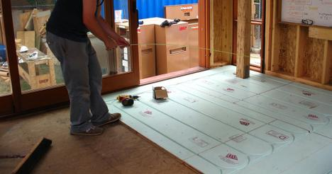 Jetson green solar decathlon teams using warmboard for Warmboard cost