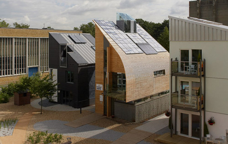 Jetson green carbon neutral lighthouse in the uk for Carbon neutral home designs