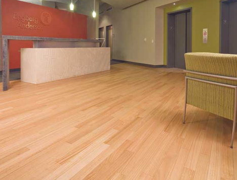 Jetson green sustainable eucalyptus flooring by duro design for Sustainable flooring