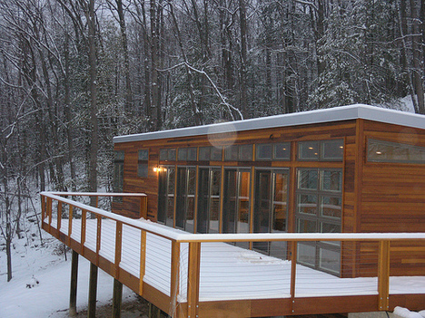 Jetson Green - Modern Prefab Cabin Available For Rent On East Coast