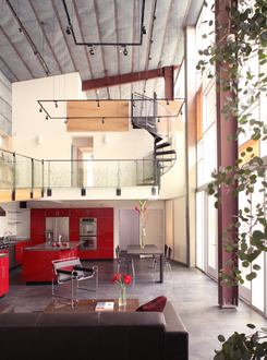 Sander Architects Prefab Interior