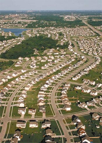 an analysis of the urban sprawl that characterized american growth patterns Urban sprawl: the american nightmare  sometimes referred to as suburban sprawl, is characterized by low density  urban sprawl deals with the growth of the.