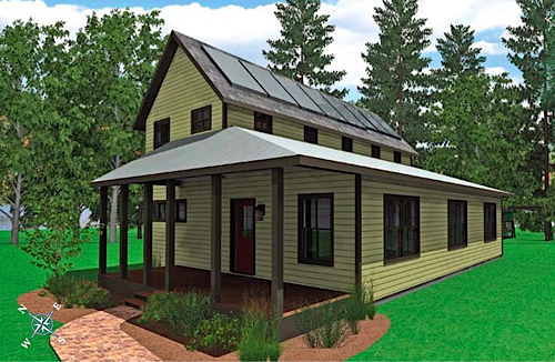 Jetson green turn key solar village home designs for Village home designs