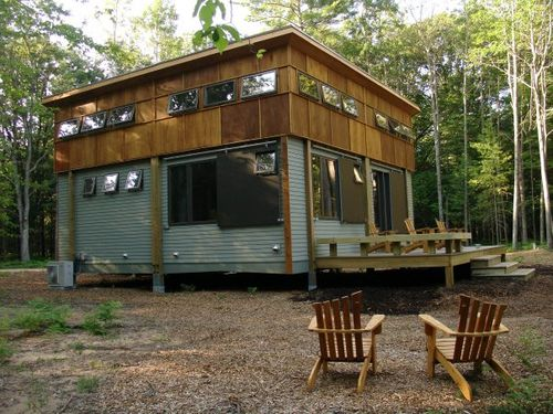 Jetson green green home prefab cottage in a day for Cottage builders in michigan