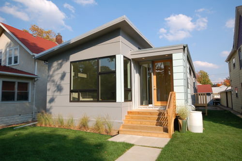 Jetson green b line small and stylishly green prefab for Hive modular prices