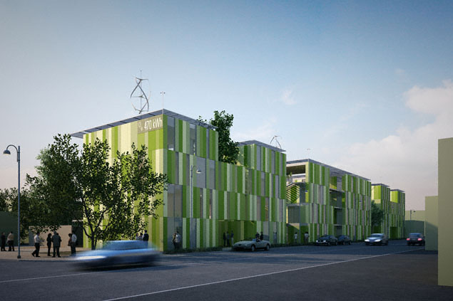 Jetson green casa 100k green prefab homes italy for Cucinella architects