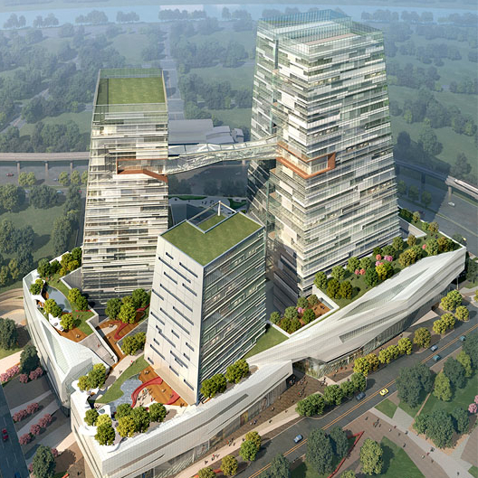 Top 30 Military Architecture Firms Building Design: Chinatrust Bank Complex Features Modern