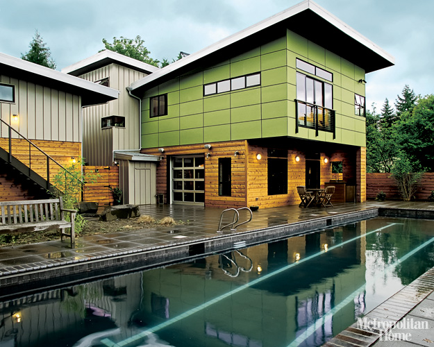Jetson green place houses prefab pacific northwest for Modern green home plans