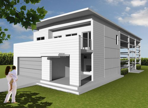 Jetson green logical homes prefab container homes for Net zero home designs