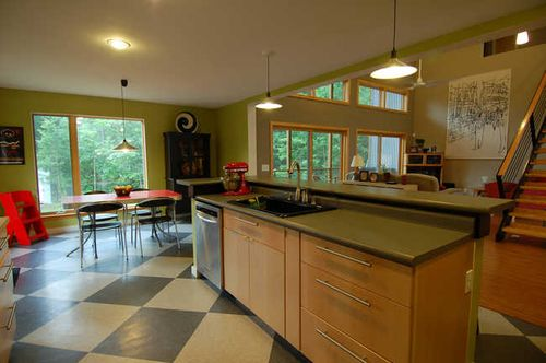 Jetson green metheny modular green wedge house for Prefab kitchens prestons