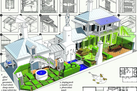 jetson green four architects design the green house of the future. Black Bedroom Furniture Sets. Home Design Ideas