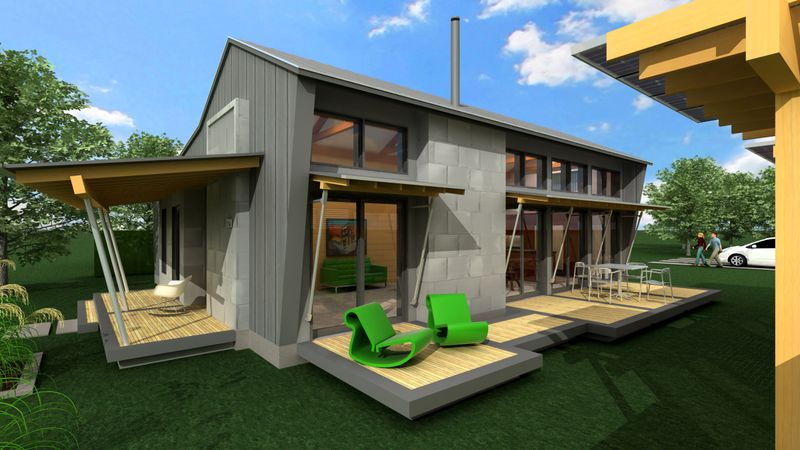 FreeGreen, Greensburg Chain Of Eco Homes Competition For $10,000