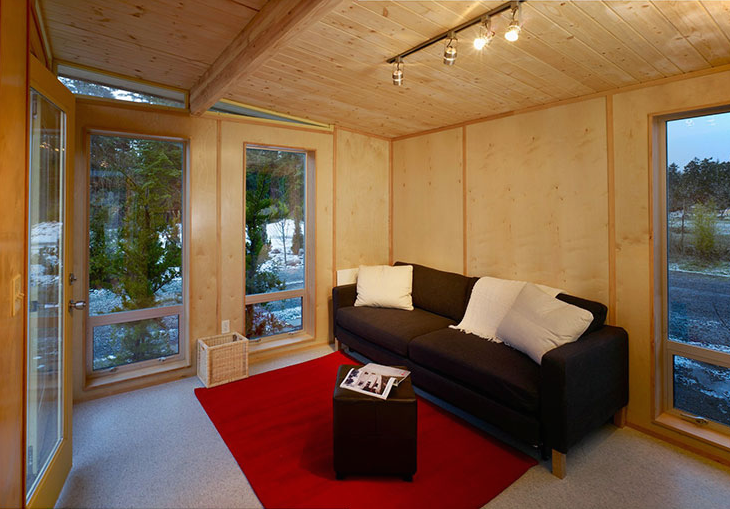 Shed Living : Jetson Green - Port Townsend Modern Dwelling Shed