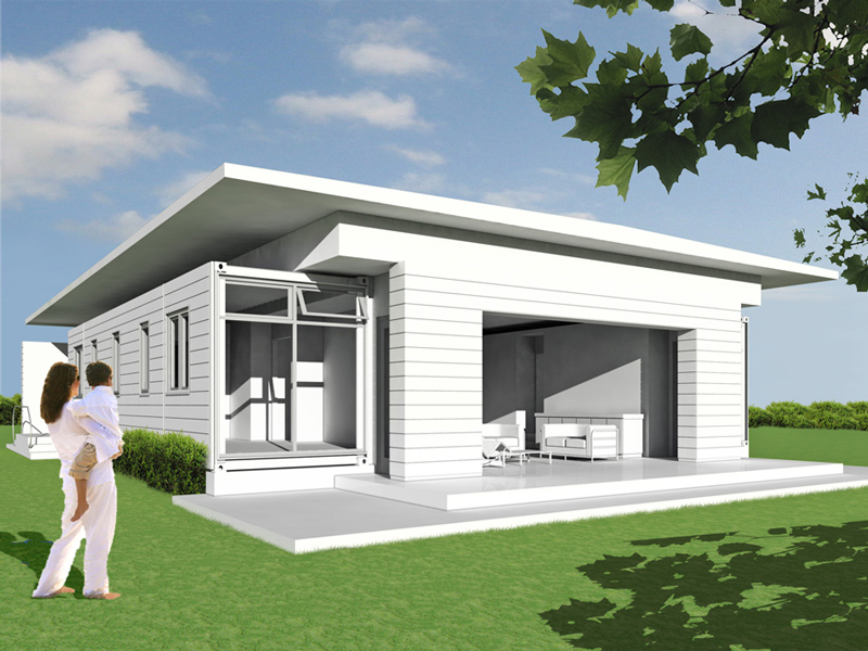 Jetson green logical homes prefab container homes for Avis maison container