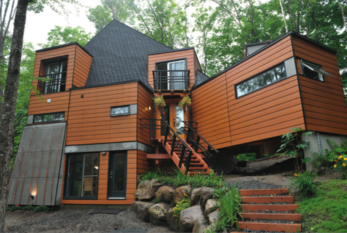 Maison IDEKIT Quebec Container Home