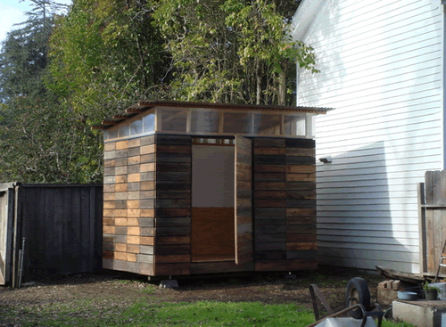 Backyard-shed