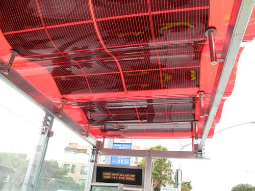 Transit-shelter-roof-red