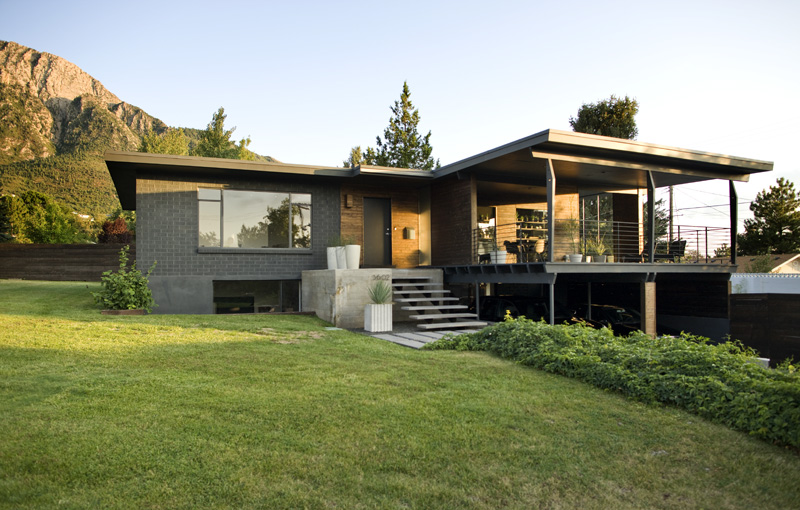 Jetson green old 1957 home gets a new modern look for Modern house 6a