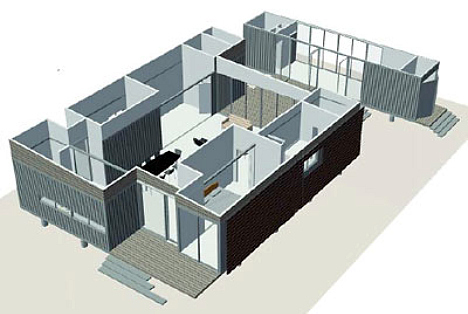 container apartment plans