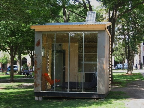 Jetson green a solar powered green microhouse for Microhouse cost