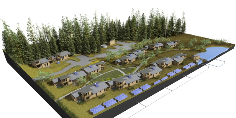 Jetson green 11 net zero energy workforce homes for Netzro net