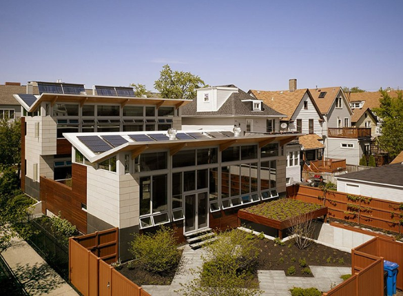 Jetson Green Platinum Net Zero Energy Yannell House