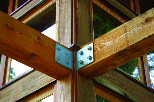 Bernheim Arboretum Visitor Center Detail © William McDonough Partners