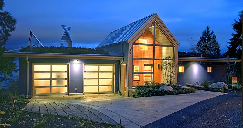 Jetson green zero energy idea house in washington for Zero energy homes