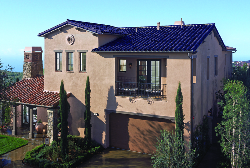 Jetson Green Clay Roof Integrated Sol 233 Power Tile