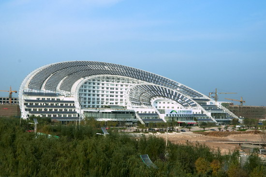 Dazhou China  City pictures : ... Massive Solar Powered Sundial Building Now Complete in Dezhou, China