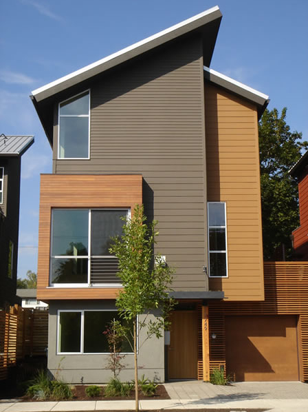 Jetson Green Eight X 17 Green Homes In Portland