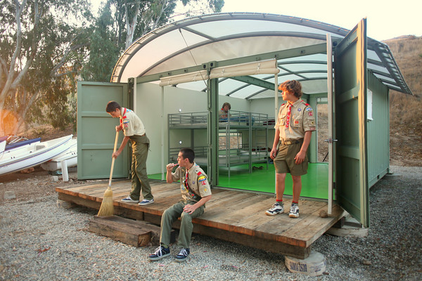 Jetson Green Eco Cabin For Camp Emerald Bay Scouts