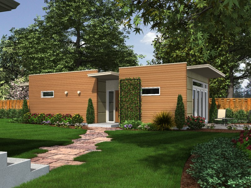 Jetson green backyard box intros line of modern for Accessory house