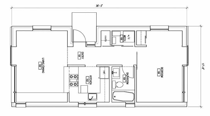 Accessory dwelling unit plans accessory dwelling unit for Accessory dwelling unit plans