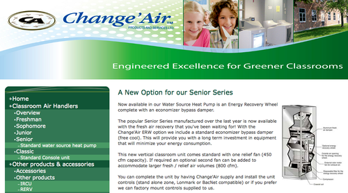 Change-air-senior-series