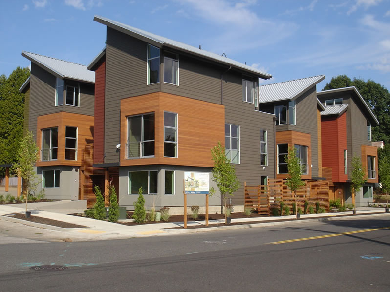 Image Gallery Contemporary Townhomes