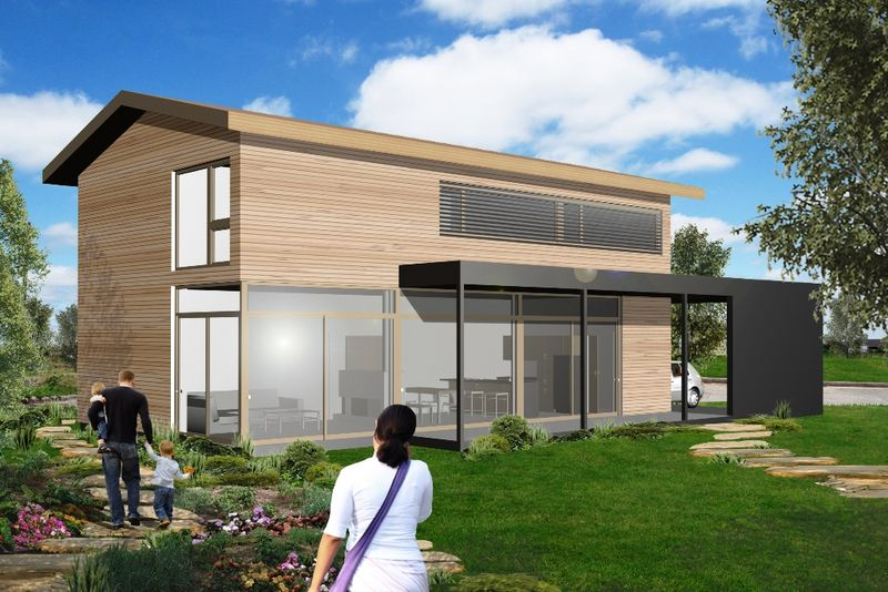 Jetson Green - Fab-Homes Intros Passive House Prefabs