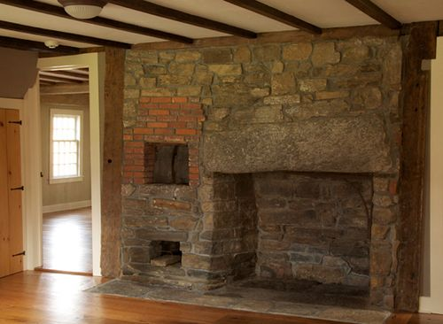 Shelley-house-1709-stone-fireplace