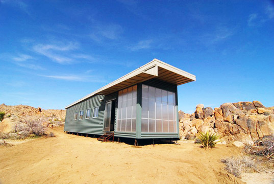 Jetson Green Joshua Tree Gets A New Desert Prefab
