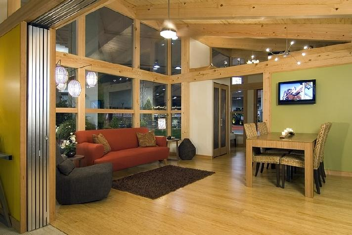 Jetson green stylish new green prefab from fabcab How big is 600 square feet