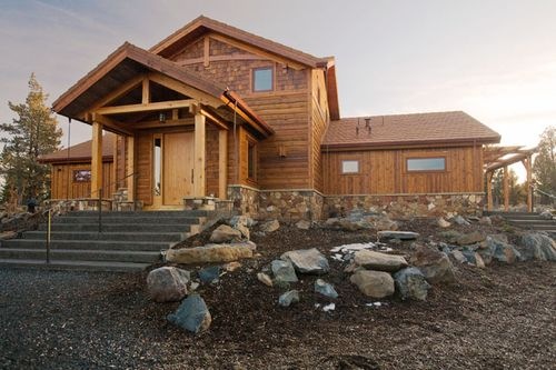 Solar-timber-frame-davis-oregon-front