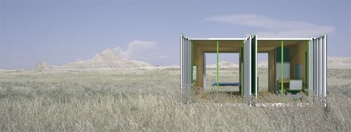 Things You Must Consider When Designing A Container House: New, Simple, Green: InterModal Design