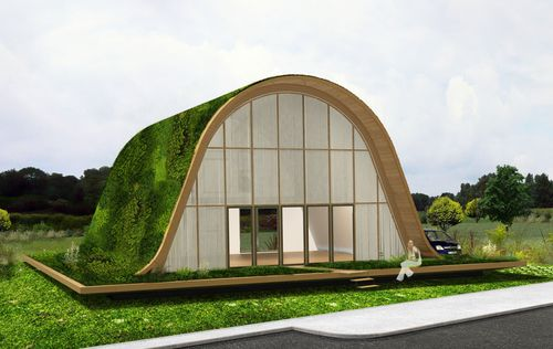 Wave-house-france-green-roof