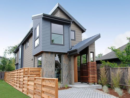 Jetson green northwest modern solar home in pdx for Northwest contemporary design
