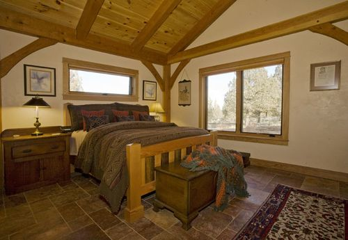 Solar-timber-frame-davis-oregon-bedroom
