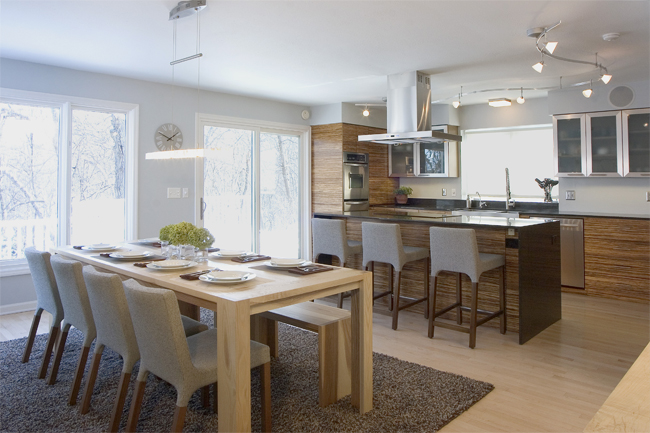 Clean Green Kitchen Rehab In Twin Cities