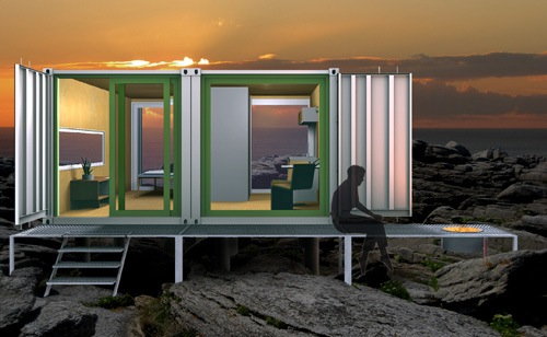 Intermodal-design-container-cabin